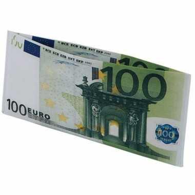 100 euro biljet portefeuille