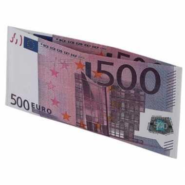 500 euro biljet portefeuille