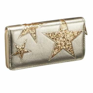 Portemonnee voor dames gouden ster